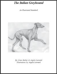 The Italian Greyhound, Illustrated Std